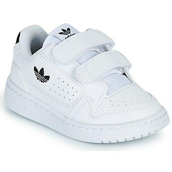 Sapatos Criança Sapatilhas adidas Originals NY 92 CF I Branco / Preto