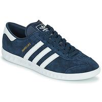 Sapatos Homem Sapatilhas adidas Originals HAMBURG Marinho