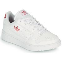 Sapatos Criança Sapatilhas adidas Originals NY 92 C Branco / Rosa