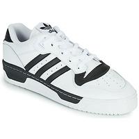 Sapatos Sapatilhas adidas Originals RIVALRY LOW Branco / Preto