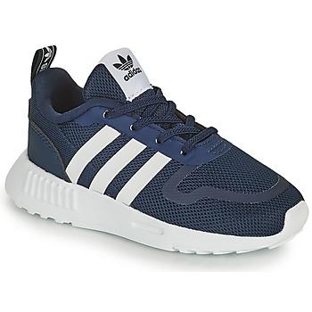 Sapatos Criança Sapatilhas adidas Originals SMOOTH RUNNER EL I Marinho / Branco