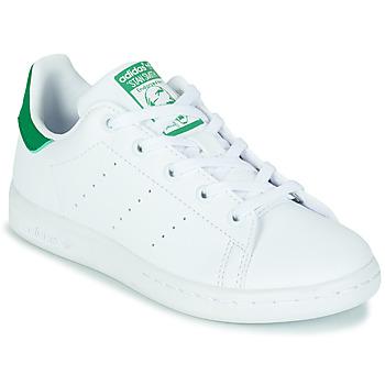 Sapatos Criança Sapatilhas adidas Originals STAN SMITH C SUSTAINABLE Branco / Verde