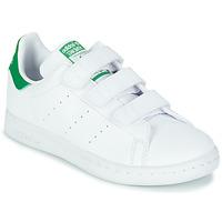 Sapatos Criança Sapatilhas adidas Originals STAN SMITH CF C SUSTAINABLE Branco / Verde