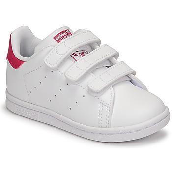 Sapatos Rapariga Sapatilhas adidas Originals STAN SMITH CF I SUSTAINABLE Branco / Rosa