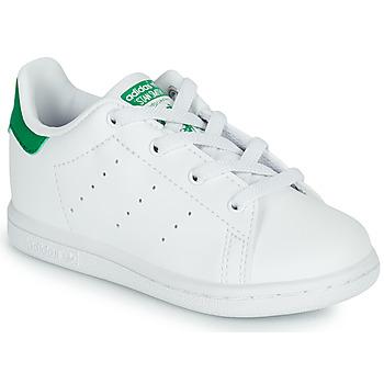 Sapatos Criança Sapatilhas adidas Originals STAN SMITH EL I SUSTAINABLE Branco / Verde