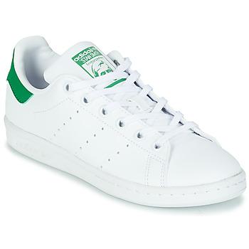 Sapatos Criança Sapatilhas adidas Originals STAN SMITH J SUSTAINABLE Branco / Verde