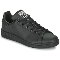 Sapatos Criança Sapatilhas adidas Originals STAN SMITH J SUSTAINABLE Preto