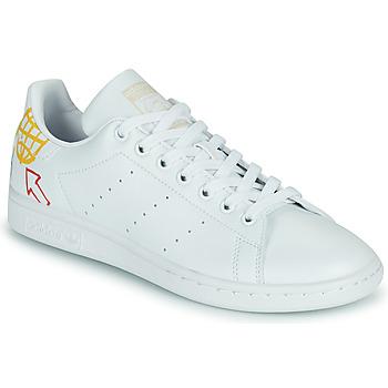 Sapatos Mulher Sapatilhas adidas Originals STAN SMITH W SUSTAINABLE Branco / Multicolor
