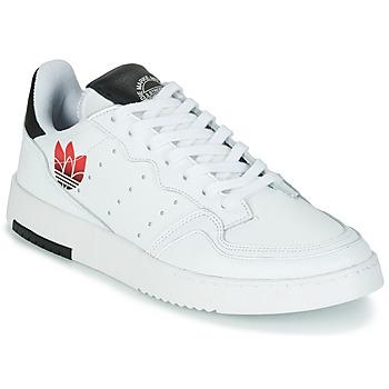 Sapatos Mulher Sapatilhas adidas Originals SUPERCOURT Branco / Preto
