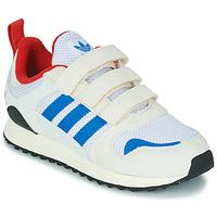 Sapatos Criança Sapatilhas adidas Originals ZX 700 HD CF C Bege / Azul