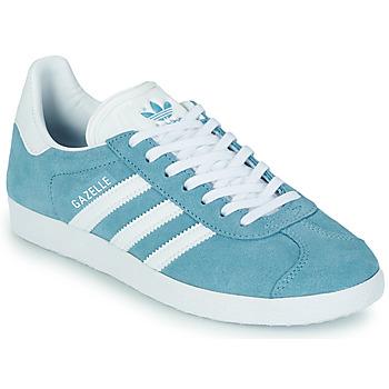Sapatos Mulher Sapatilhas adidas Originals GAZELLE W Azul