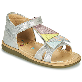 Sapatos Rapariga Sandálias Shoo Pom TITY FALLS Prata