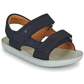 Sapatos Rapaz Sandálias Shoo Pom GOA BOY SCRATCH Azul