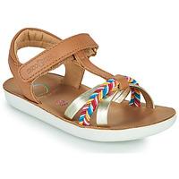 Sapatos Rapariga Sandálias Shoo Pom GOA SALOME Castanho