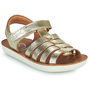Sapatos Rapariga Sandálias Shoo Pom GOA SPART Prata