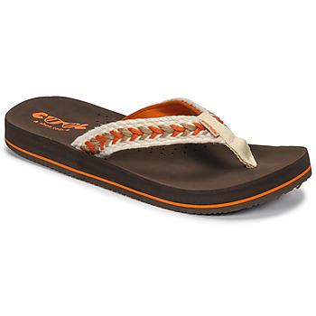 Sapatos Mulher Chinelos Cool shoe NUBE Castanho