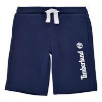 Textil Rapaz Shorts / Bermudas Timberland SHOTA Marinho