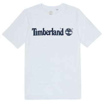 Textil Rapaz T-Shirt mangas curtas Timberland FONTANA Branco