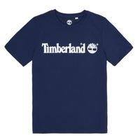 Textil Rapaz T-Shirt mangas curtas Timberland VUILL Marinho
