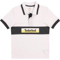 Textil Rapaz Polos mangas curta Timberland DOTTO Branco