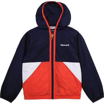 Textil Rapaz Corta vento Timberland COPPO Multicolor