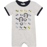 Textil Rapaz Macacões/ Jardineiras Timberland SUPLLI Cinza