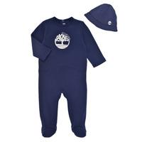 Textil Rapaz Pijamas / Camisas de dormir Timberland HIPPI Marinho