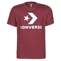 Textil Homem T-Shirt mangas curtas Converse STAR CHEVRON TEE Bordô