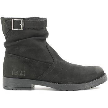 Sapatos Criança Botas baixas Holalà HL120002L Preto