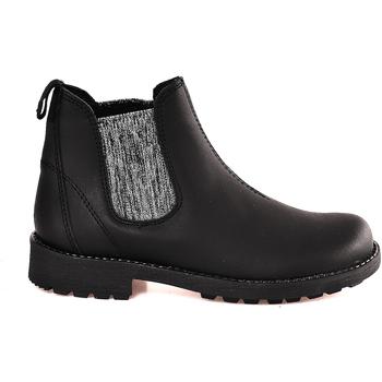 Sapatos Criança Botas baixas Grunland PO1384 Preto