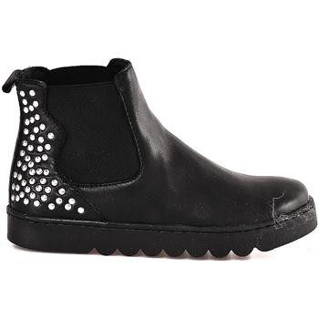 Sapatos Criança Botas baixas Holalà HL0001L0002J Preto