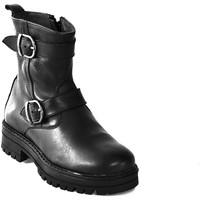 Sapatos Criança Botas baixas Asso 67961 Preto