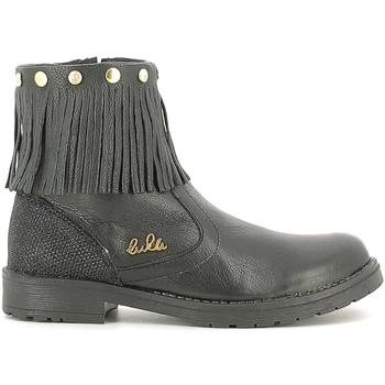 Sapatos Criança Botas baixas Lulu LL100020L Preto