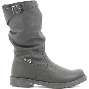 Sapatos Criança Botas Lulu LL1000017L Preto