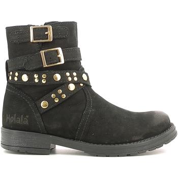 Sapatos Criança Botas baixas Holalà HL120008L Preto