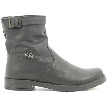 Sapatos Criança Botas baixas Lulu LL1000019L Preto