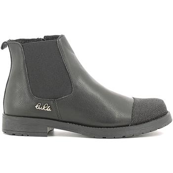 Sapatos Criança Botas baixas Lulu LL100022L Preto