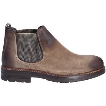 Sapatos Homem Botas baixas Exton 695 Castanho