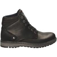 Sapatos Homem Botas baixas Wrangler WM172015 Preto