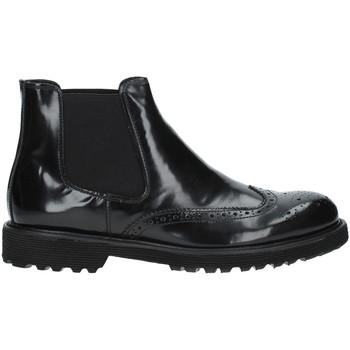 Sapatos Homem Botas baixas Exton 498 Preto