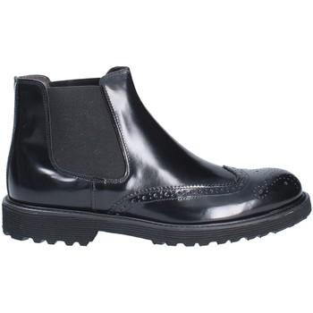 Sapatos Homem Botas baixas Exton 5357 Preto