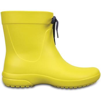 Sapatos Homem Botas de borracha Crocs 203851 Amarelo
