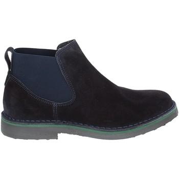 Sapatos Homem Botas baixas Rogers 20078 Azul