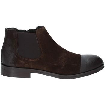 Sapatos Homem Botas baixas Exton 5357 Castanho