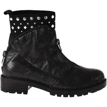 Sapatos Criança Botas baixas Grunland PO1068 Preto