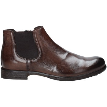 Sapatos Homem Botas baixas Exton 3117 Castanho