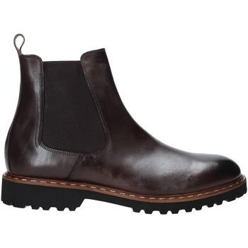 Sapatos Homem Botas baixas Exton 9059 Castanho