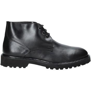 Sapatos Homem Botas baixas Exton 9058 Preto