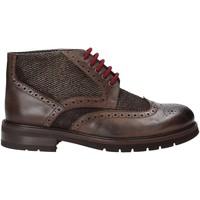 Sapatos Homem Botas baixas Exton 63 Castanho