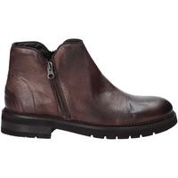Sapatos Homem Botas baixas Exton 25 Castanho